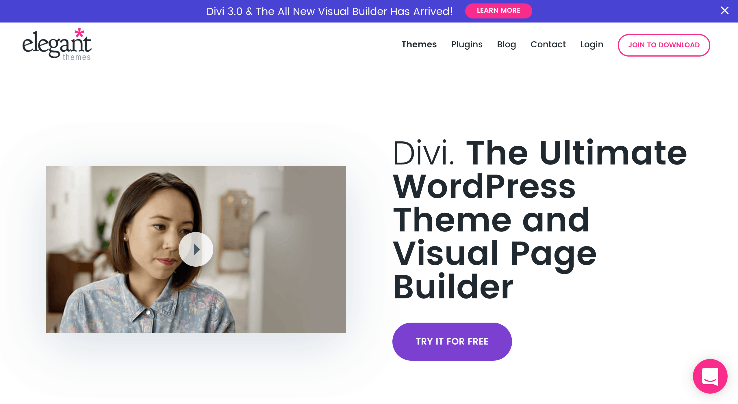 The Divi Theme for WordPress